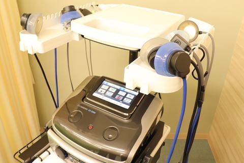 立体動態波を内蔵する電気治療器「ES‐5000」